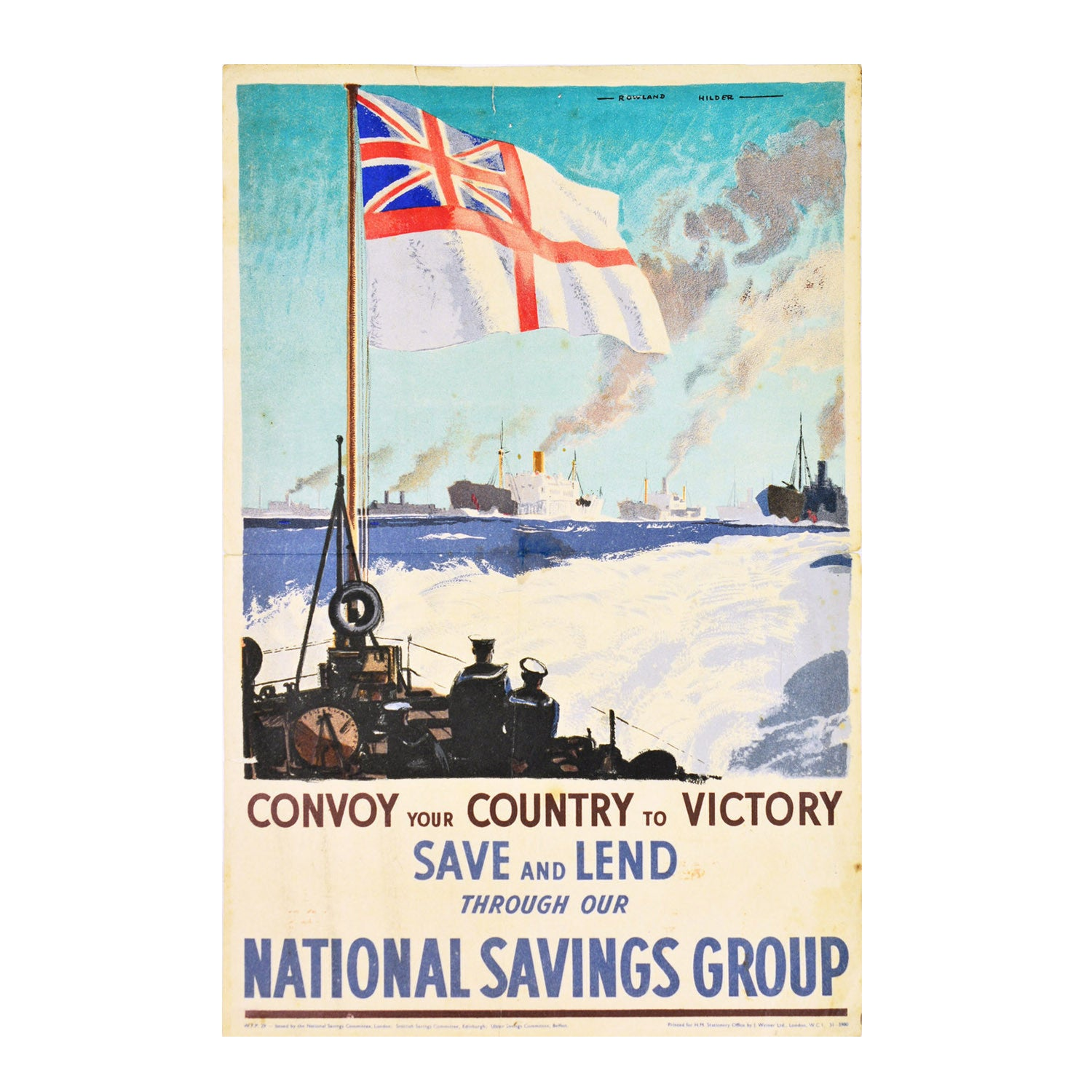 Convoy your Country to Victory (Save & Lend)