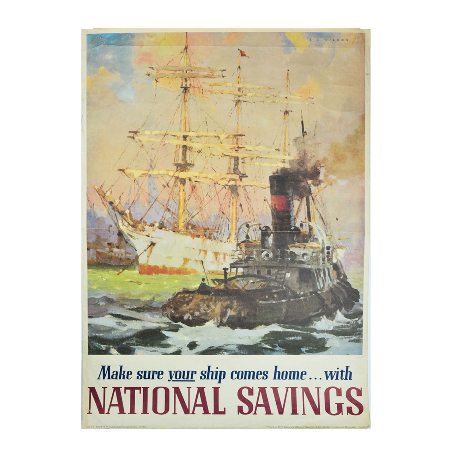 Make sure your ship come home with National Savings