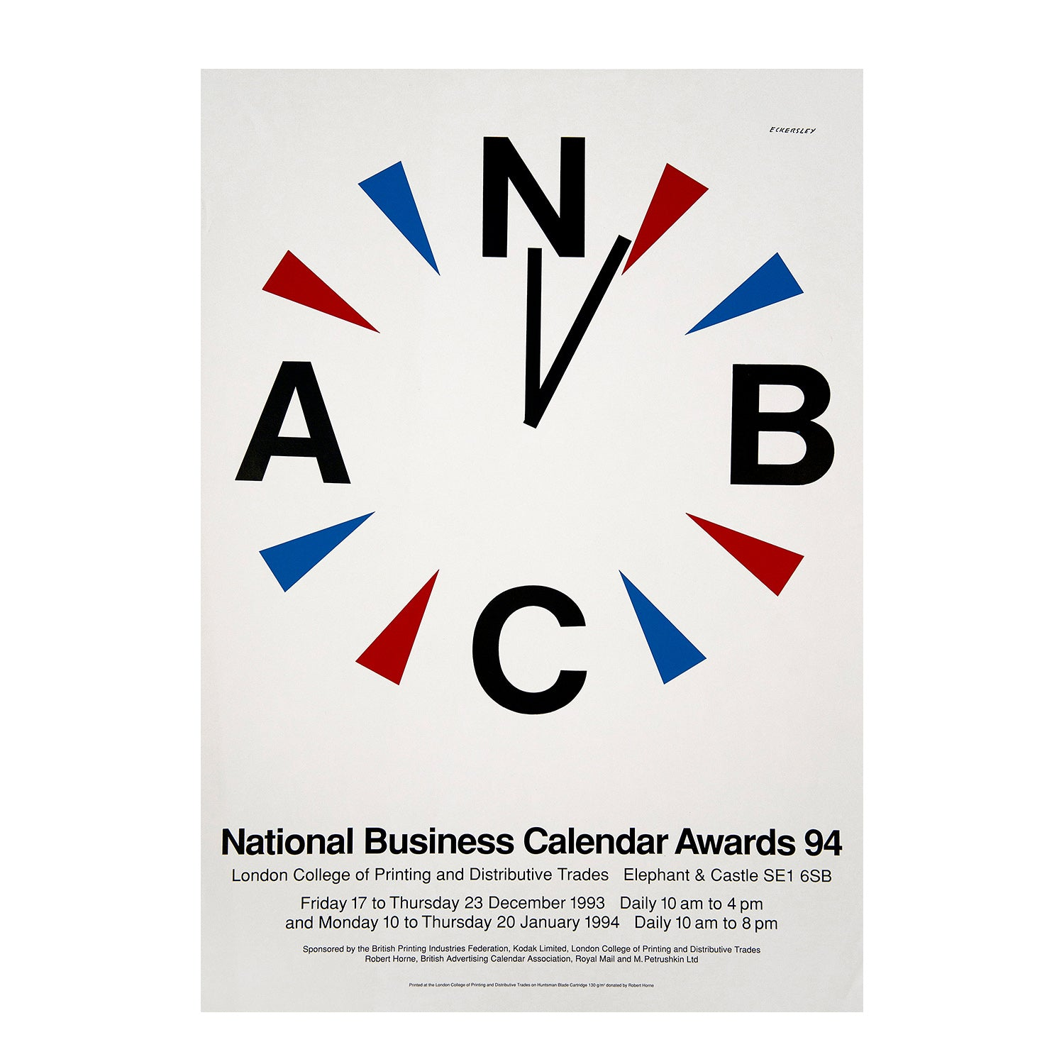 National Business Calendar Awards 94