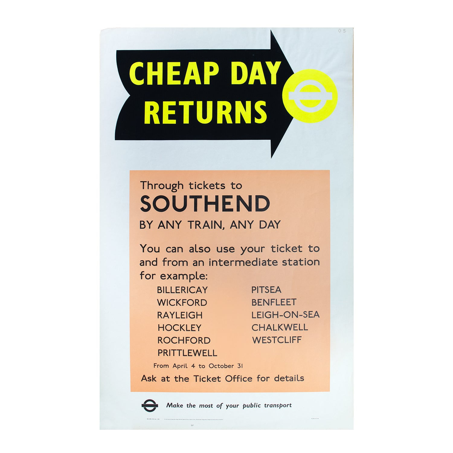 Cheap Day Returns to Southend