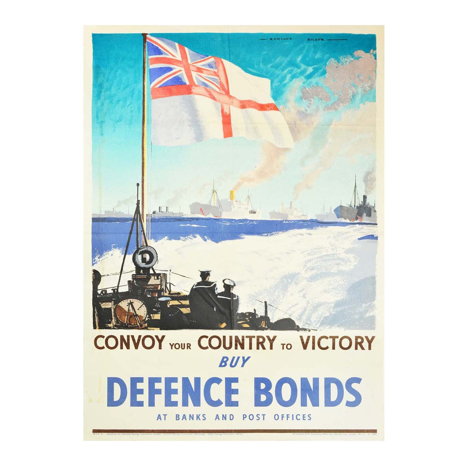 Convoy your Country to Victory (Defence Bonds)