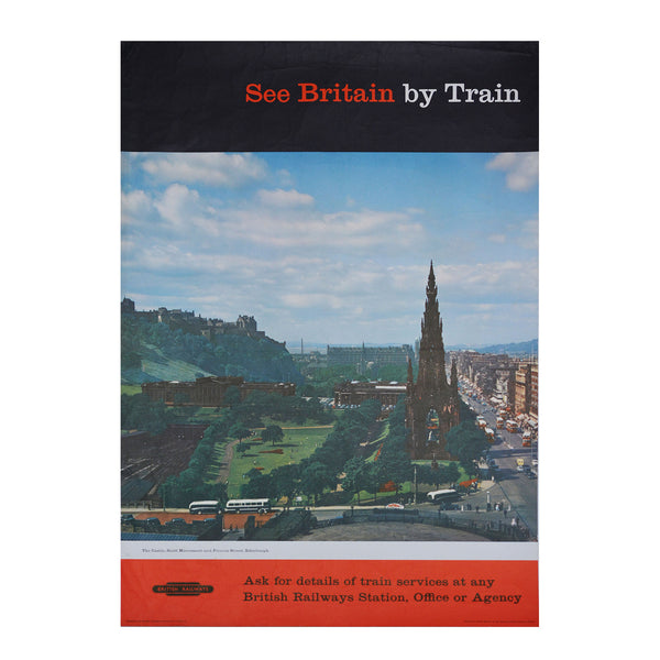 Original British Transport Commission Edinburgh 1950s