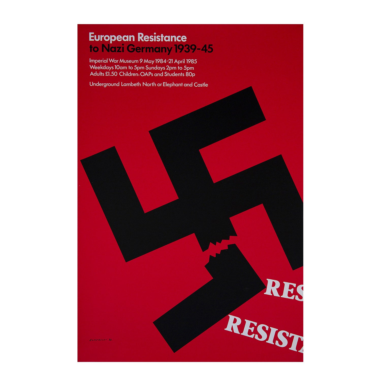European Resistance To Nazi Germany 1939 45 Twentieth Century Posters