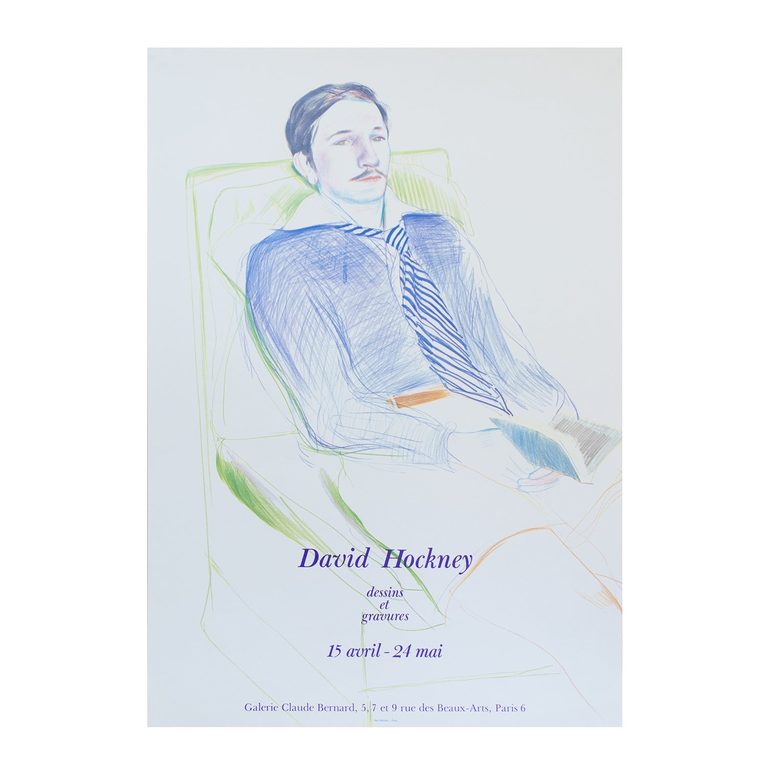 David Hockney. Dessins et gravures