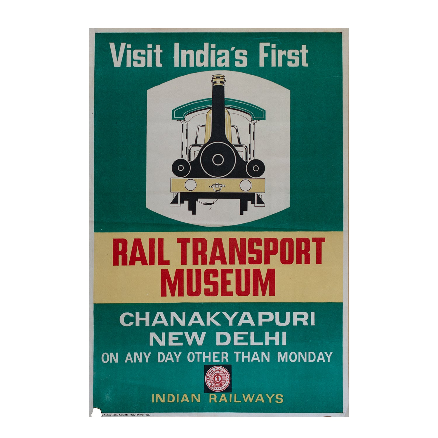 Visit India's First Rail Transport Museum