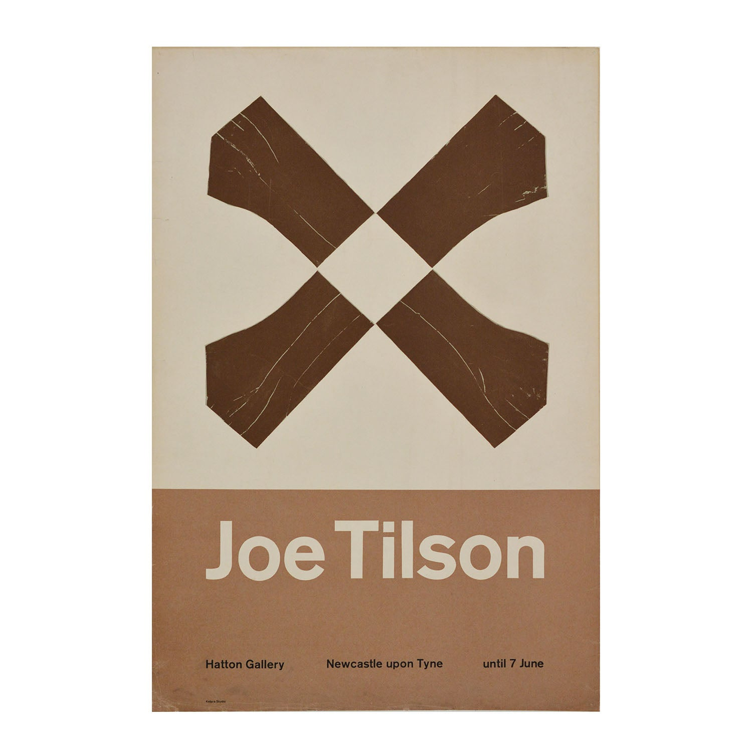 Original poster: Joe Tilson. Exhibition