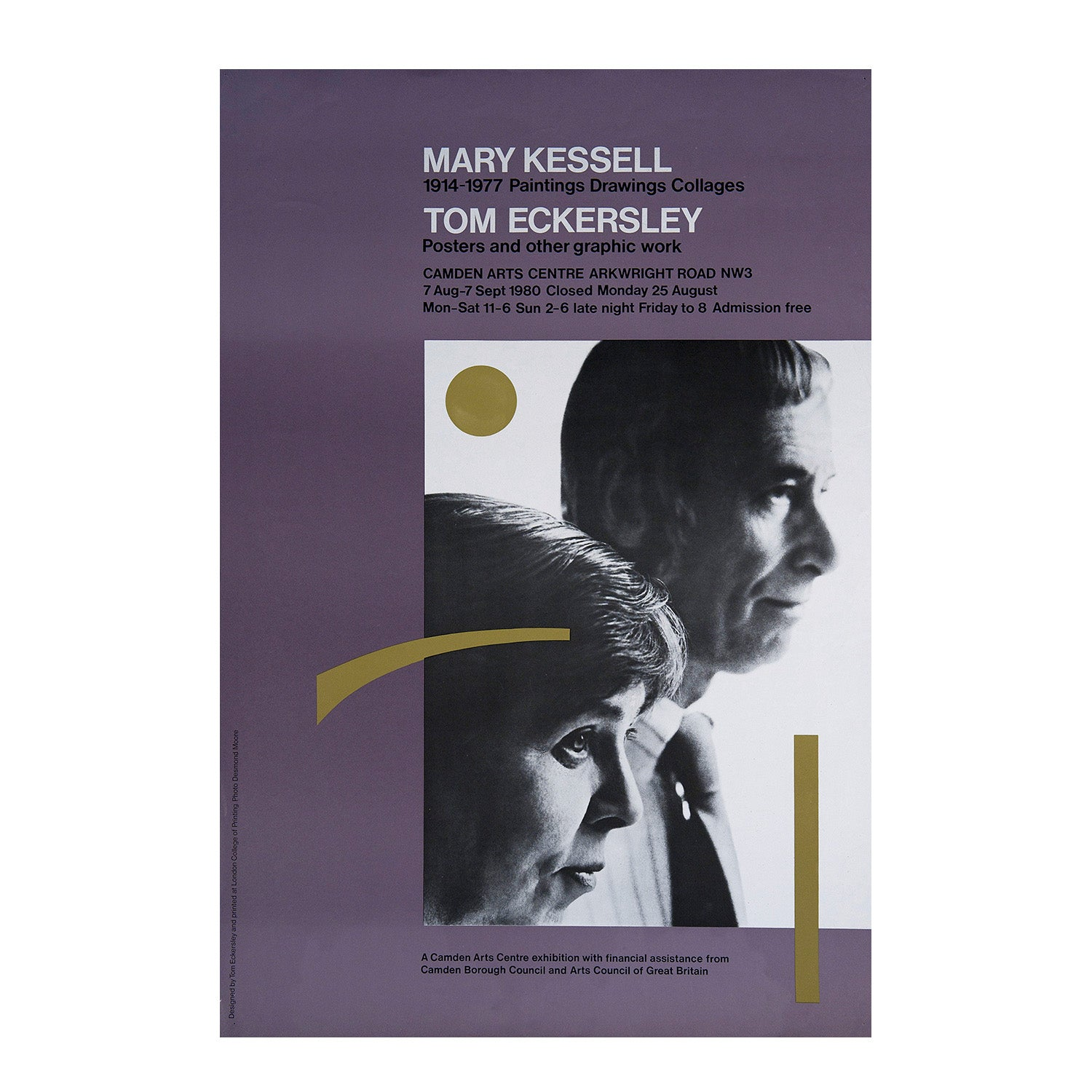 Mary Kessell 1914-1977 Paintings Drawings Collages. Tom Eckersley Posters and other graphic works