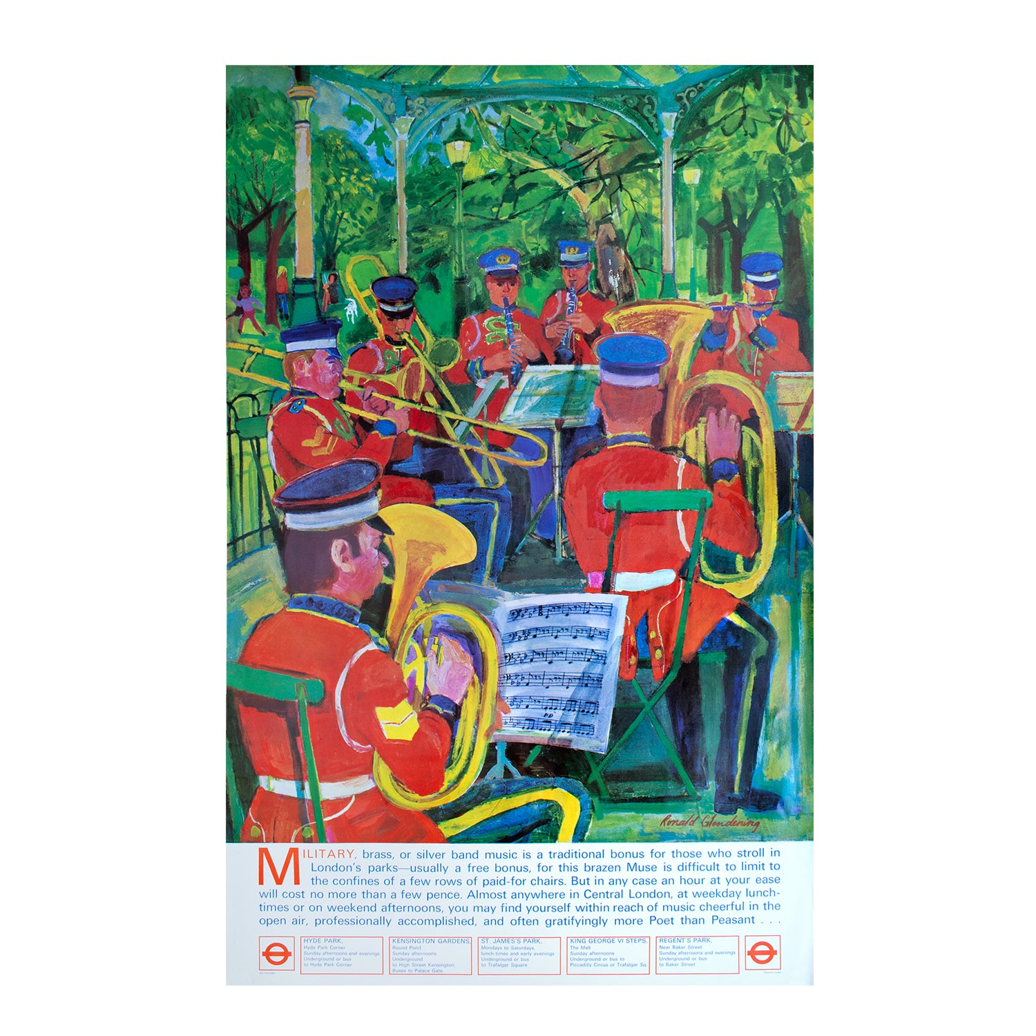 Military Brass Bands/London Parks
