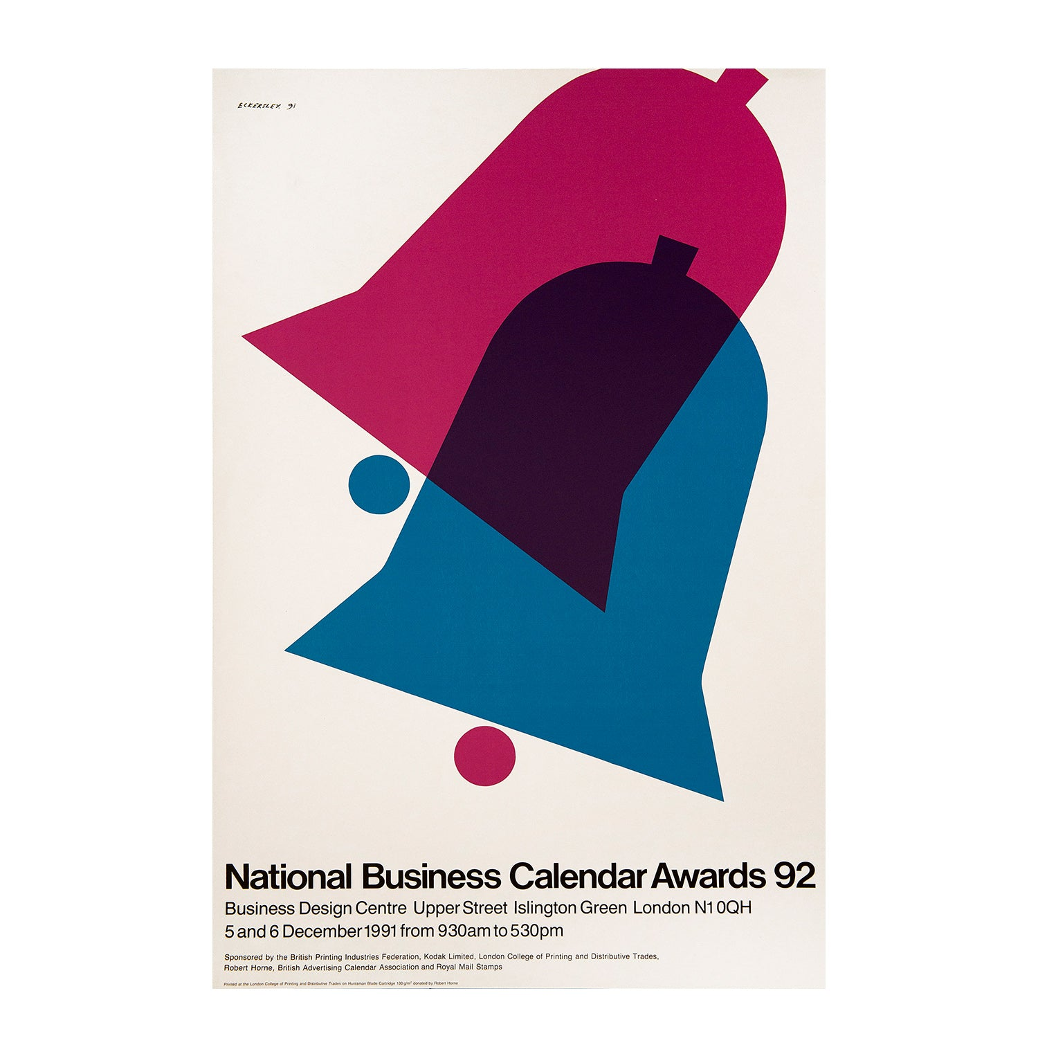 National Business Calendar Awards 92