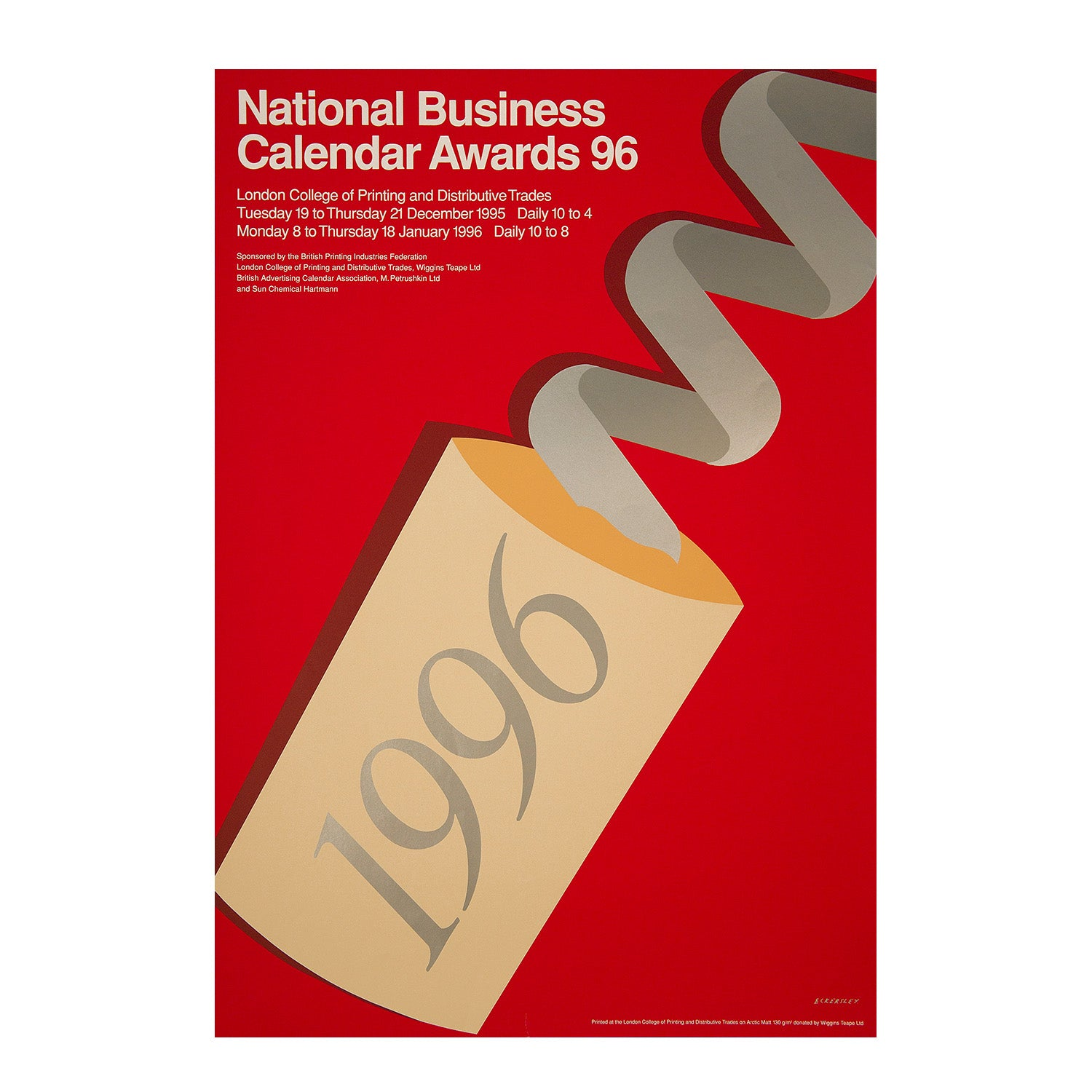 National Business Calendar Awards 96