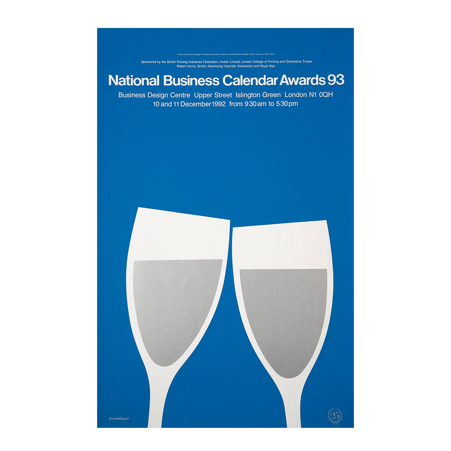National Business Calendar Awards 93