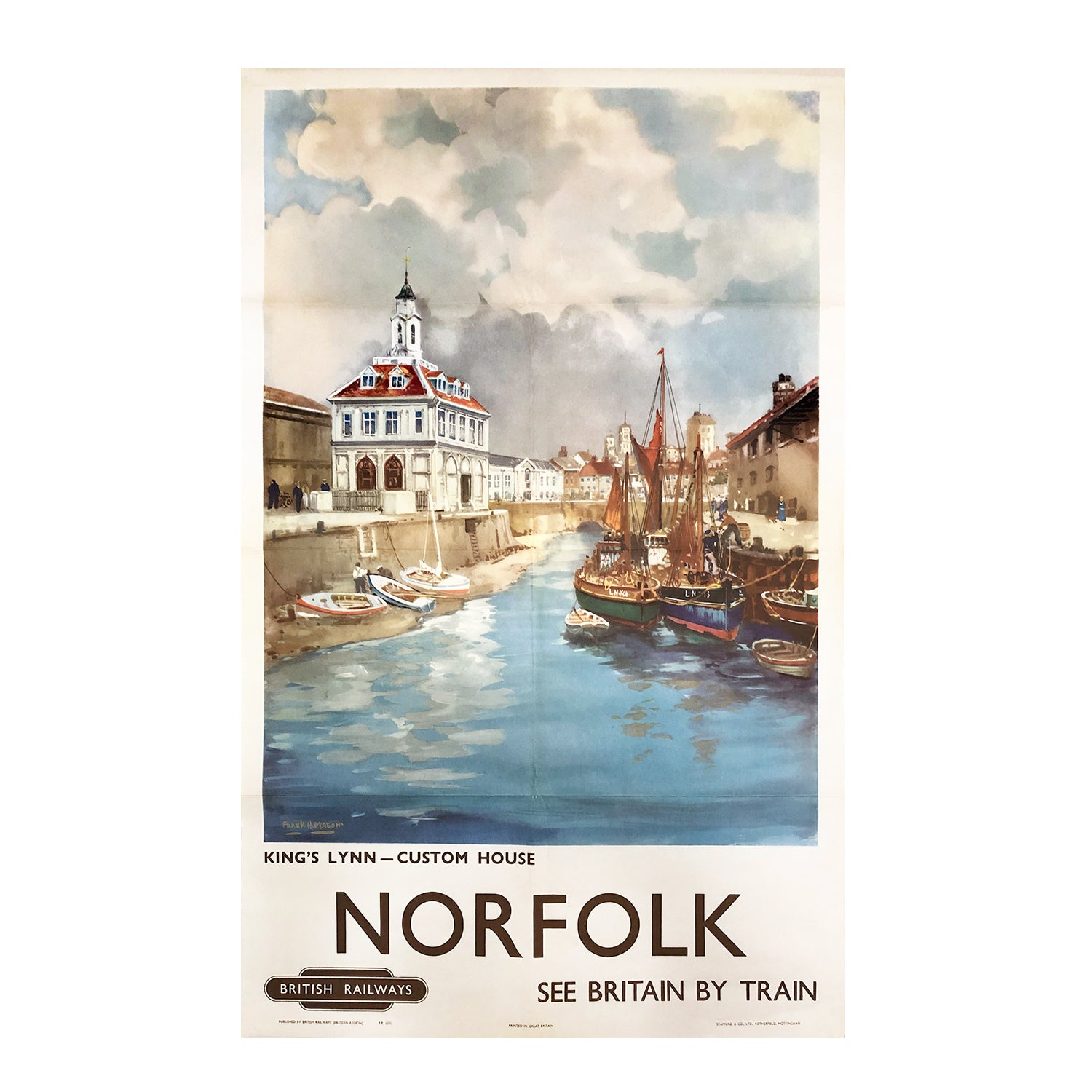 original poster: Norfolk. See Britain by Train