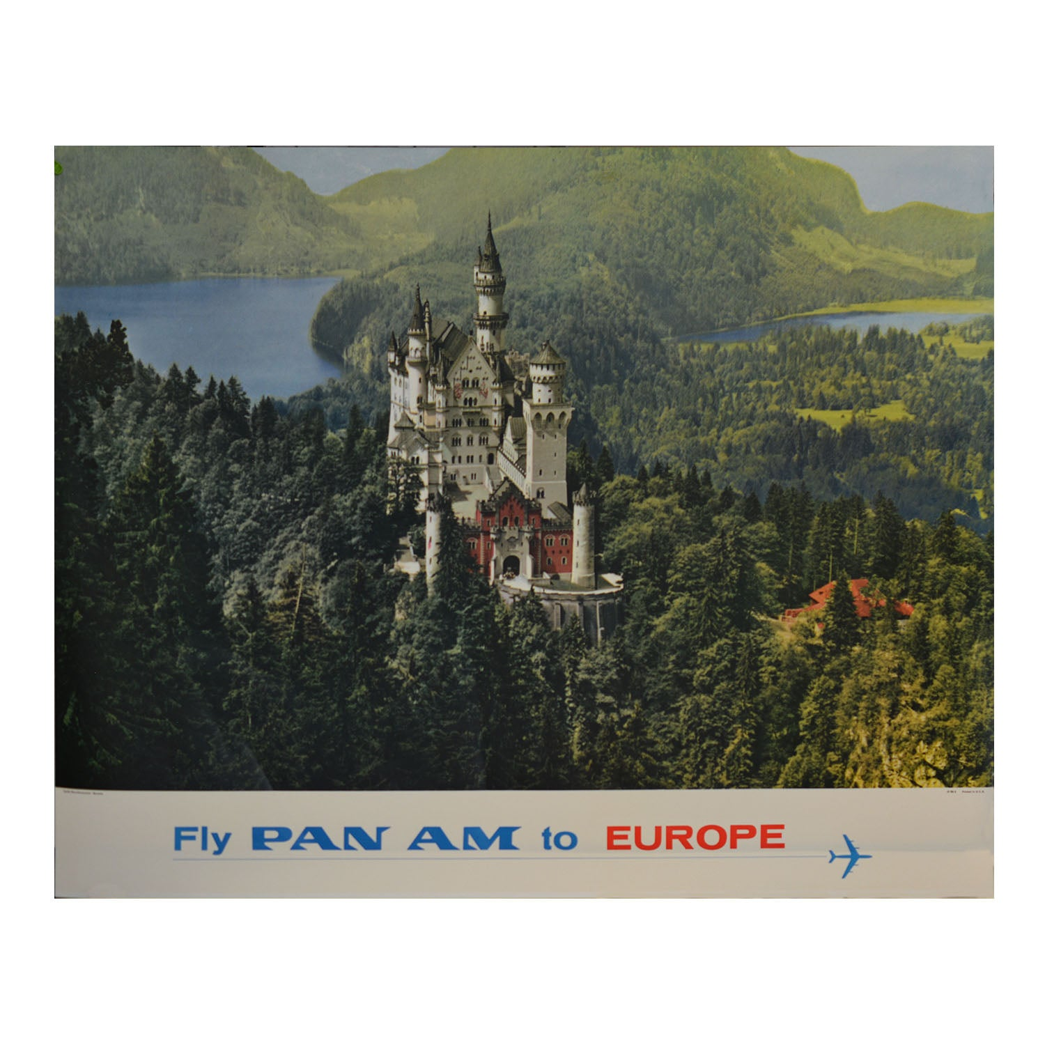 Original poster: Fly Pan Am to Europe