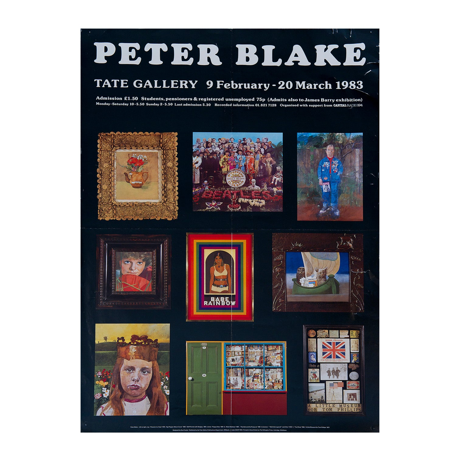 Peter Blake, Tate Gallery Exhibition
