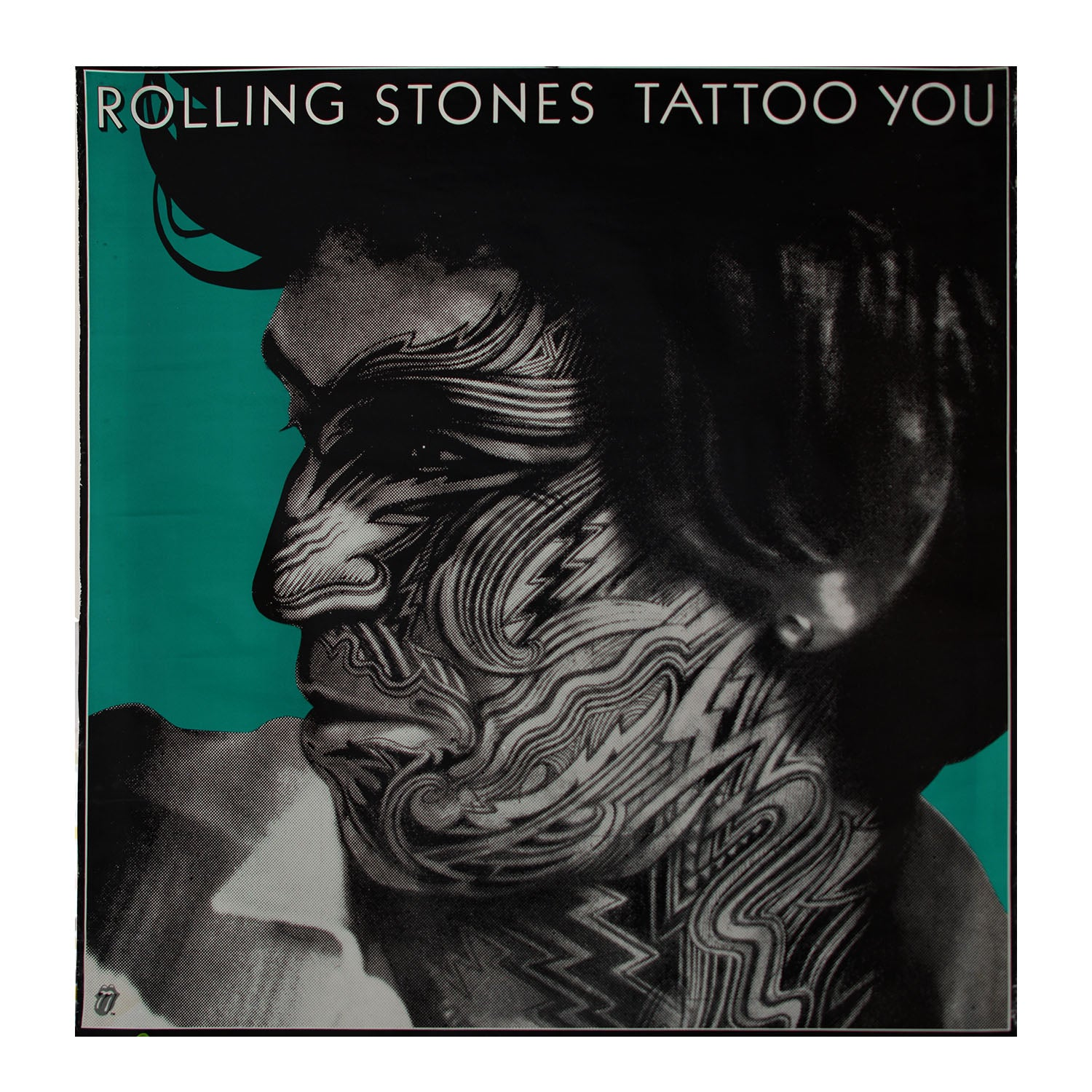 Original poster: Tattoo You [Rolling Stones]