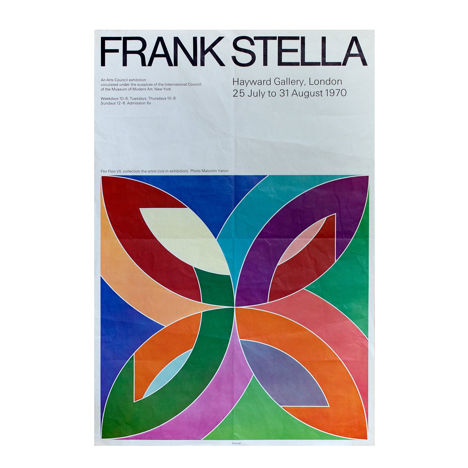 Frank Stella. Exhibition