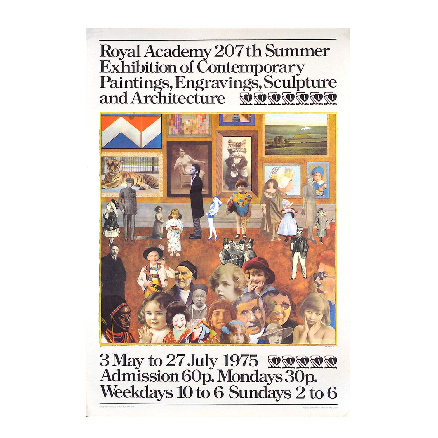 Royal Academy Summer Exhibition, 1975