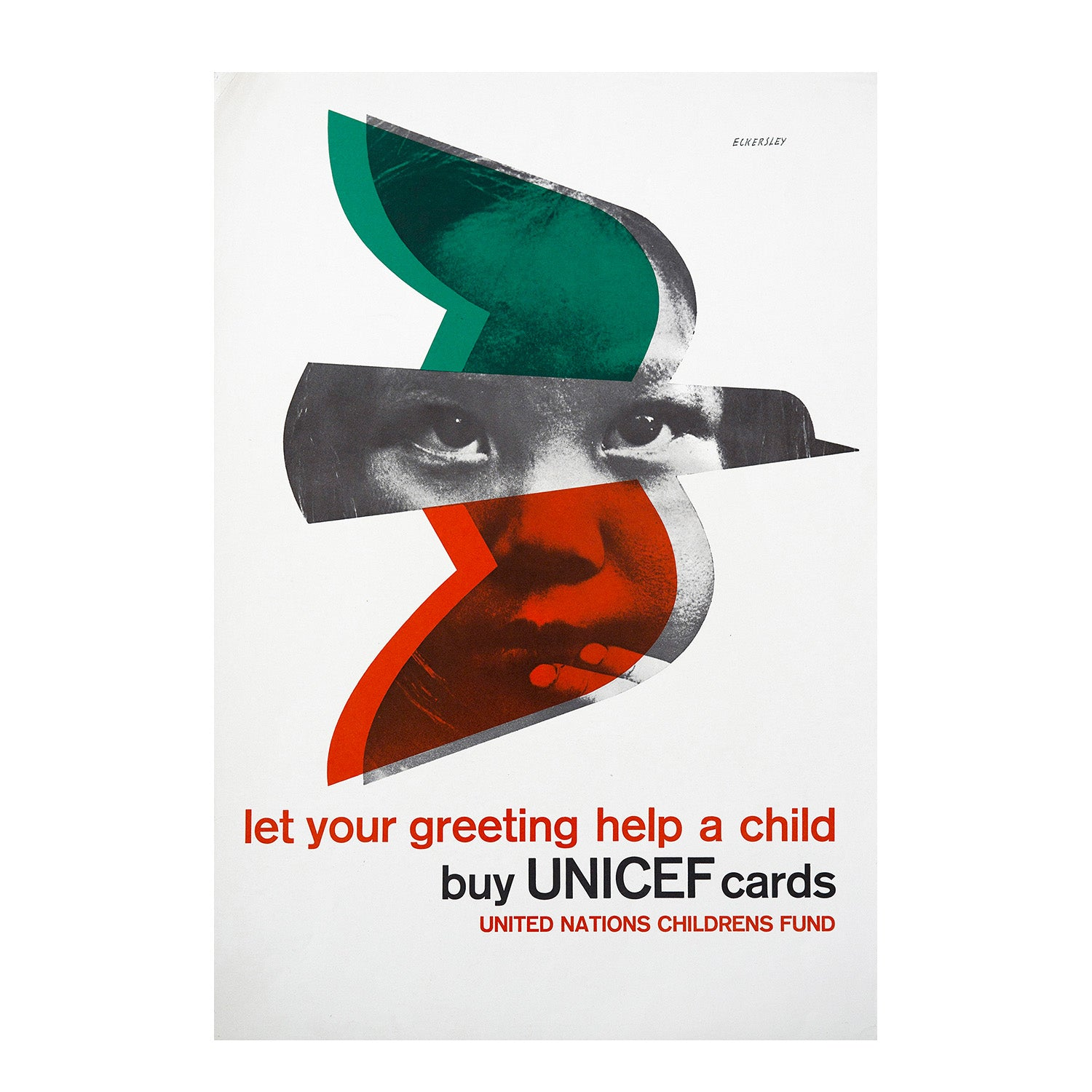 Let Your Greeting Help A Child Buy Unicef Cards Twentieth Century Posters