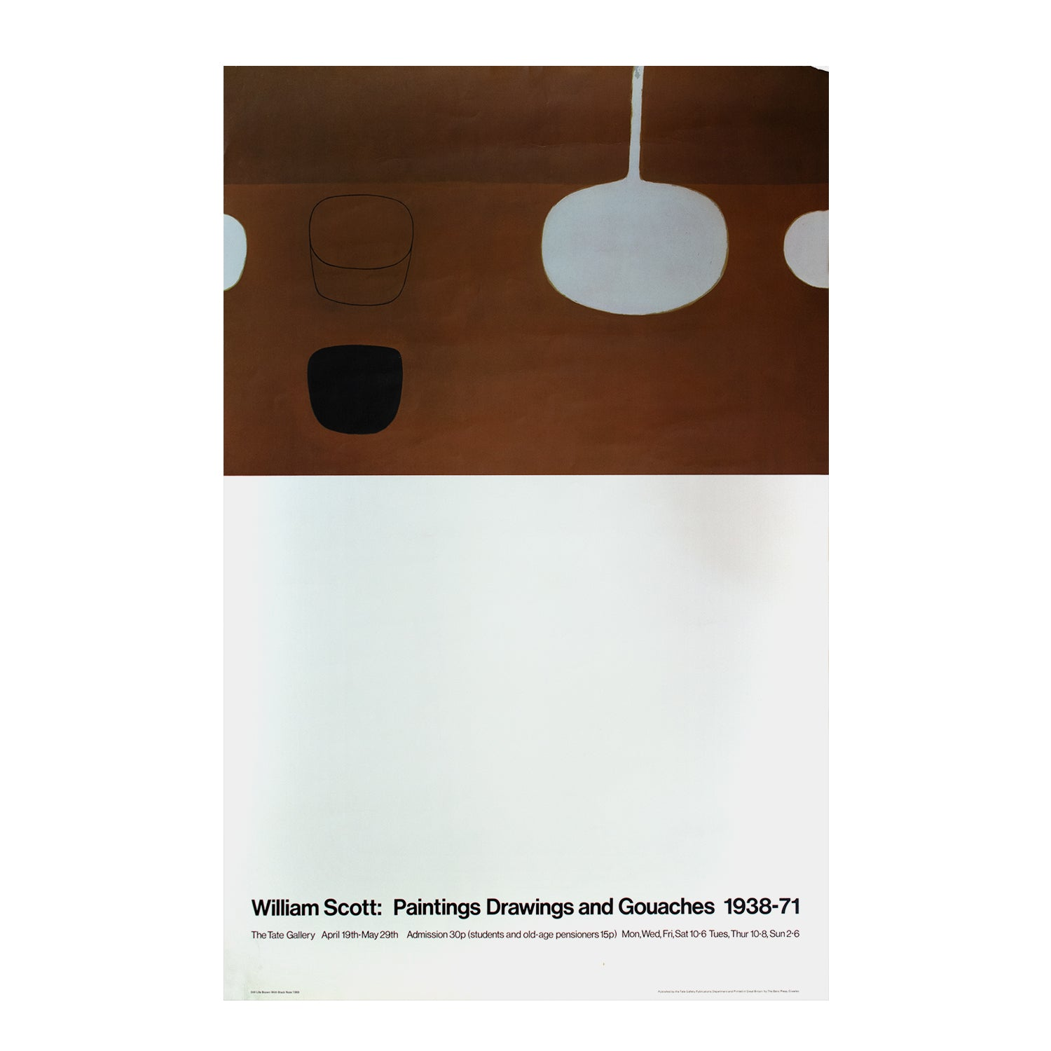 William Scott: Paintings Drawings and Gouaches, 1938-71