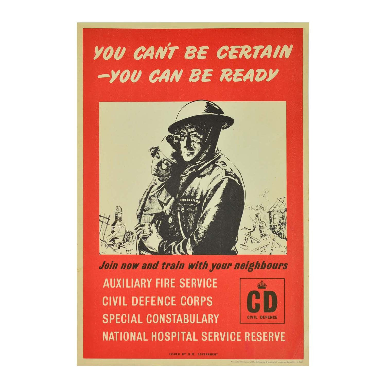 You can't be certain - you can be ready