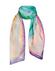 The Lady Garden Scarf - Pale Pastel