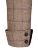 Burghley Tweed Coat - Plum Twill