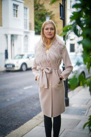 Marianne Cashmere Coat - Cream