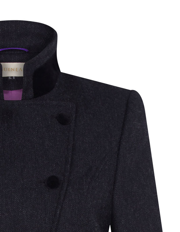 Knightsbridge Wool Coat - Black