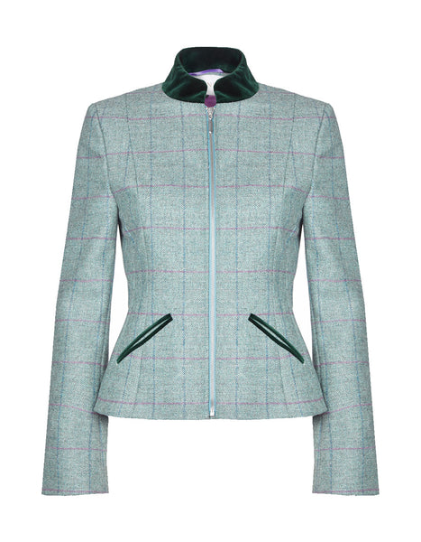 Marylebone Tweed Jacket - Moss Green