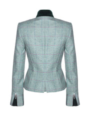wool blazer, tweed jacket womens, tweed shooting jacket, 100 wool coat