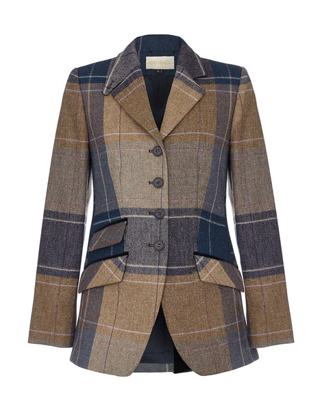 Mayfair Tweed Jacket - Fawn Blanket