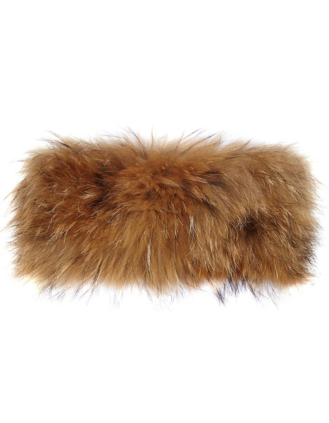 Fur Neck Warmer - Natural