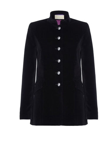 Soho Black Velvet Jacket