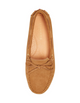 womens flat suede shoe