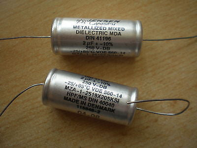 Metalized mixed Dielectric MDS 2uf 25v MZA-1-2519X205KSI 2pcs £5.00