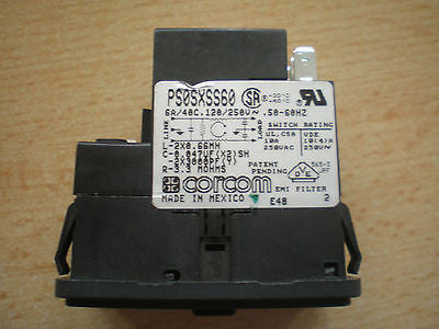 EMI/RFI  Power entry module PS0SXSS60