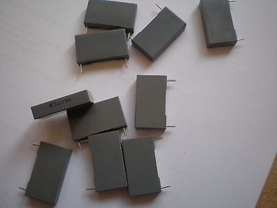 Plastic film capacitor 2.2uf 100v 5% part number R60EN4220AA30J 10pcs £5.00