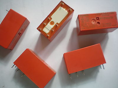 SPDT relay part number RTD14012 12vdc 360ohm 16A 5pcs £5.00