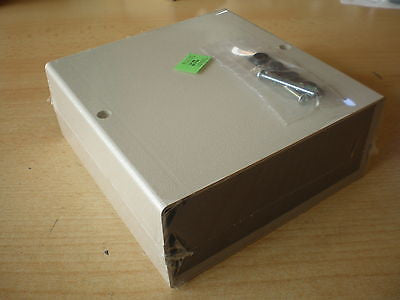 Plastic Enclosure Box, by Schoff 154 x 159 x 64mm  2 for £10.00  RS no - 220-995