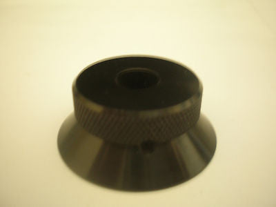 Black Aluminium Knob  Part number 5609/A/B   H37