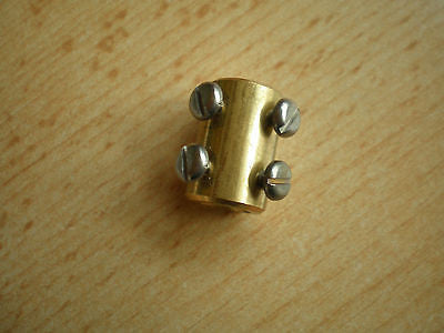 4636, Brass Coupler 6mm, Made by Jackson Bros   H71