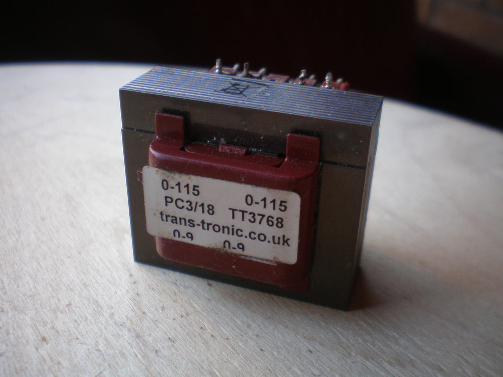 230 Volt transformer (0-115 0-115) to 9 Volts (0-9 0-9)