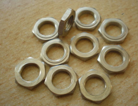 "5/16"" x 32 TPI Whitworth half nuts"