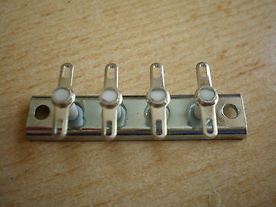 TS7-04 Terminal Strip, Made by Jackson Brothers    H123