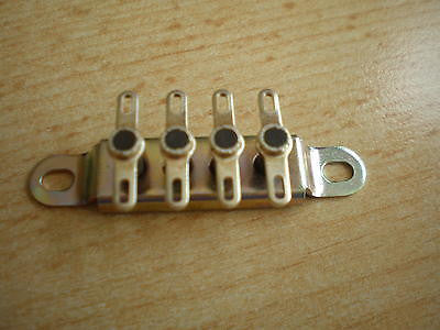 TS1-04/6 Terminal Strip, Made by Jackson Brothers     H109