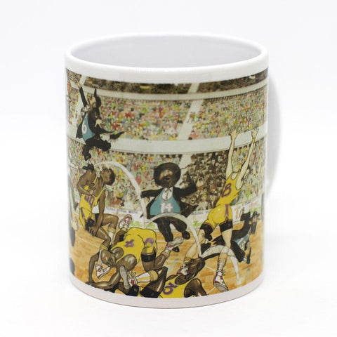 Martin Holt Basketball Mug
