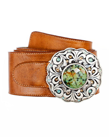 Dixie Double Buckle Belt