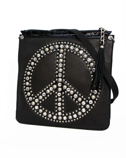 Crystal Peace Crossbody Bag