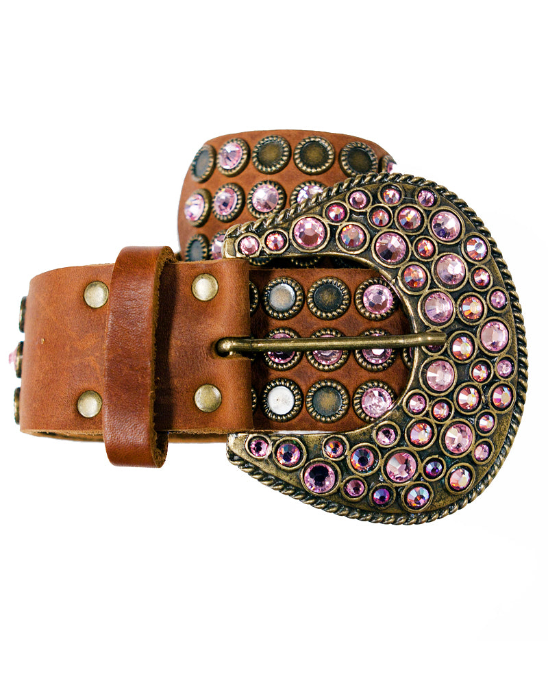 Crystal Pink Belt