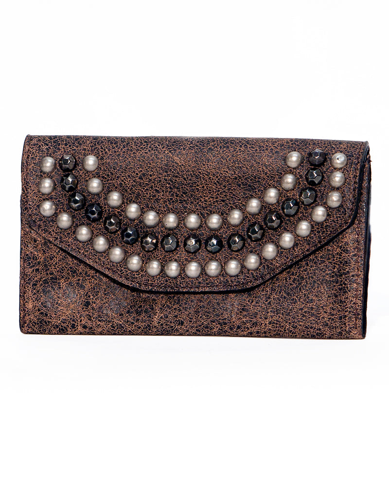 Willow Studded Wallet